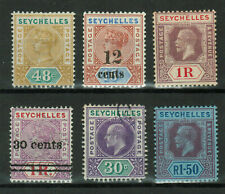 Seychelles - Lot of 6 stamps