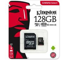 128 GB SDXC Micro SD Karte Kingston Class Klasse 10 mikro microSD Card 128GB XC