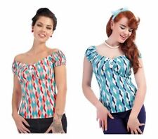 Cotton Tops & Shirts for Women's 50s
