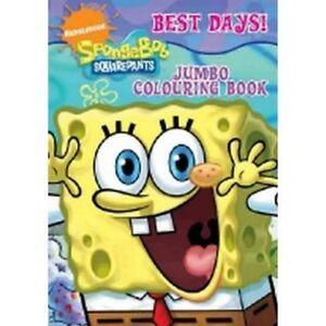 SpongeBob Squarepants Jumbo Colouring Book,