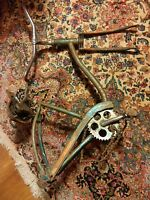 000 Vintage Westpoint Bicycle Frame Seat Handle Bars Pedals Parting Out