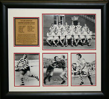 1965 St George Collage signed by The Immortals Framed Photo Proof