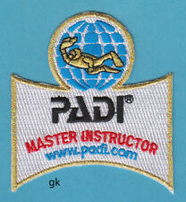 PADI MASTER INSTRUCTOR  SCUBA DIVE PATCH