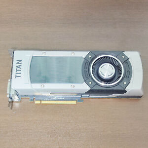 NVIDIA GeForce GTX TITAN BLACK 6GB GDDR5