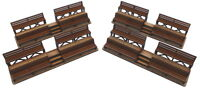 1/32 Scale Spectator Stands X 4, Slot Car, Scalextric,  Magnetic Racing