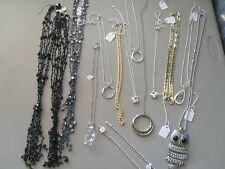 Wholesale Lot of Jewelry Costume Pieces Bracelets Necklace Lot 15 total