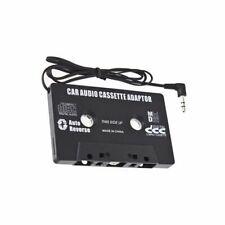 Car Black Cassette tape Adaptor for MP3 iPod Nani CD MD S1D6