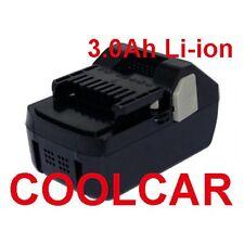 Battery For Hitachi 18V D Li-ion 3Ah BSL1815X BSL1830 HeavyDuty C18DSL WH18DSL