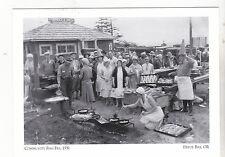 "*Oregon-""Community Fish Fry, 1931""   Lincoln City {Postcard} (4-OR)"