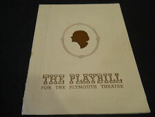 APRIL 1944 PLAYBILL- LOVERS AND FRIENDS, THE PLYMOUTH THEATRE, ANNE BURR