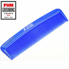 The Bluebeards Revenge Blue Mo Tash Moustache & Beard Comb