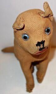 "ANTIQUE/VINTAGE Handmade 14-1/2"" DOG STUFFED ANIMAL~AS-IS~LOT #1! NR!"
