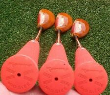 OVERSIZE Ping EYE 2 Golf Clubs set Mahogany Wood Stain Driver 3 5 New Red Grips
