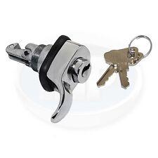 VW Bug Ghia T3 Chrome Locking Glove Box Latch w/ Keys 111857131 52-67