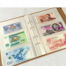 240pockets Folders Album Holders Banknotes Bills Stamp ticket Collections Book
