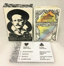 James Joyce Cards Playing Cards / Poker Cards: Ulysses a Vau-de-Ville (Black)