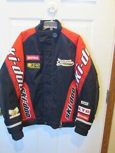 Ski-Doo Bombardier DuPont Thermolite Plus Racing Black & Red Jacket Men medium