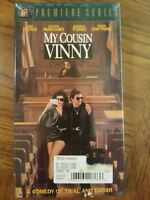 My Cousin Vinny VHS New 1992 Comedy Crime Joe Pesci Ralph Macchio Marisa Tomei