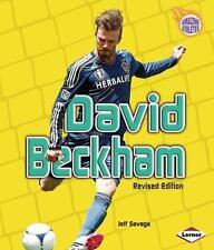 David Beckham (Amazing Athletes) (Amazing Athletes (Hardcover))-ExLibrary