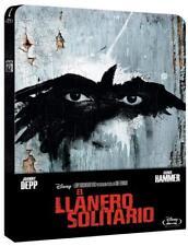 EL LLANERO SOLITARIO (THE LONE RANGER) BLU-RAY STEELBOOK CAJA METALICA, ESPAÑA