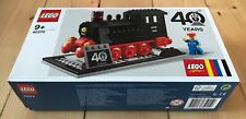 NEW SEALED LEGO 40TH ANNIVERSARY STEAM TRAIN (SET 40370) SHOP 2020 EXCLUSIVE!!