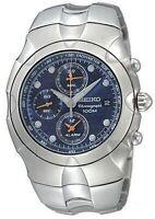 Seiko Streamline Blue Dial Alarm Chronograph Men's Watch SNA759P1