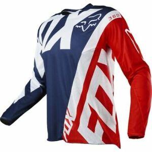 Fox Racing Mens Adult 180 Prix Jersey MX ATV Motocross Riding Offroad