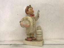 Little Pharmacist Glass Sculpture (Goebel) - Vintage