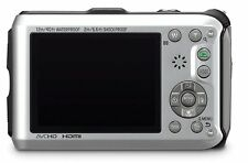 Panasonic Lumix DMC-TS3 12.1 MP Rugged/Waterproof Digital Camera SILVER