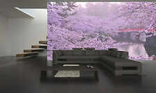 Cherry Blossom Wall Mural Photo Wallpaper GIANT DECOR Paper Poster Free Paste