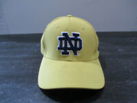 Under Armour Notre Dame Fighting Irish Hat Cap Fitted Mens Large Gold Football