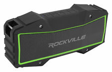 Rockville ROCK EVERYWHERE Portable Bluetooth Speaker/Waterproof/Wireless Link