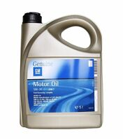 ORIGINAL GM OPEL 5L Motoröl Öl LongLife dexos2 5W-30 5W30 93165557 | 5 LITER