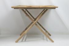 Bloomingville Sole Esstisch Gartentisch Klapptisch Tisch 90x90 Bambus SIEHE FOTO