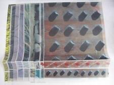 9 Diversi Modelli di Stampato Pergamena Carta 404x296mm, Cardmaking AM407
