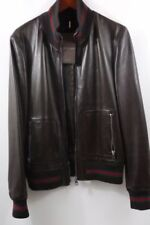 89039db91 Gucci Leather Coats & Jackets for Men for sale | eBay