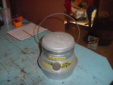 VINTAGE THERMOS SAFETY HEATER ALUMINUM 60s 70s WITH LID