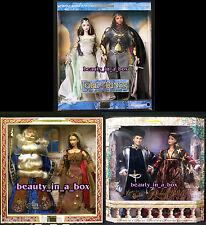 Arwen Aragorn Barbie Doll Merlin Morgan Romeo Juliet Together Ken Boxes w/ Wear