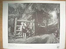 VINTAGE 1916 stampa-RUSTIC bambini da WILLIAM COLLINS