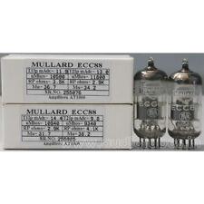 1MP ECC88 6DJ8  Mullard made in Great Britain Amplitrex tested#255076&85