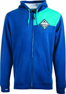 Fly Racing 354-6281L Patch Hoody Blue Lg