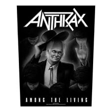 Anthrax Among The Living Back Patch A027P Slayer Metallica Testament Megadeth