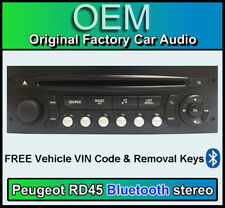 radios f r peugeot 207 sw g nstig kaufen ebay. Black Bedroom Furniture Sets. Home Design Ideas