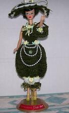 "HANDMADE CROCHET GAY PARISIENNE Dress CLOTHING FOR 11"" 1959-60 DOLLS"