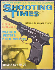 Vintage Magazine SHOOTING TIMES, July 1969 !!! WALTER PISTOLS P-38, PP... !!!