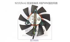 For MSI N460GTX N560 570 580 GTX HD6870 graphics card fan 12V 0.55A 4-pin 2 Ball
