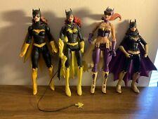 Batgirl DC Collectibles Loose Figure Lot Bombshells Batman