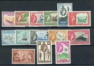 [20959] British Solomon Isl : Good Lot of Very Fine MNH Stamps