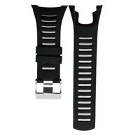 Sports Rubber Replacement Watch Band Strap Buckle for SUUNTO Ambit Series