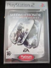 Medal of Honor European Assault para playstation 2 nuevo y precintado Pal